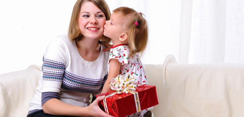Подарок от ребенка маме на день матери своими руками